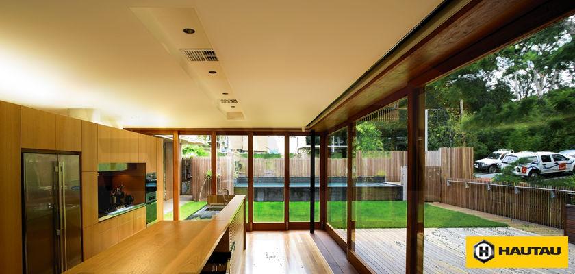 Раздвижные деревянные окна (порталы)